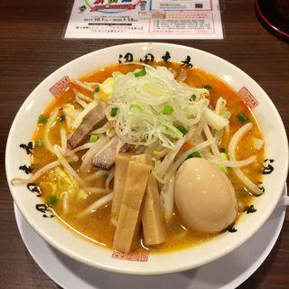 もやしそば+味玉(麺組)