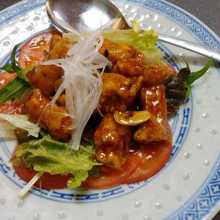黒酢酢豚(赤玉亭 (アカダマテイ))