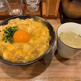 特上親子丼(鶏スープ付き)(親子丼専門店 ○勝)