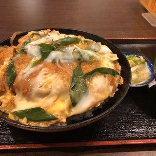 カツ丼(そば処 まる栄)