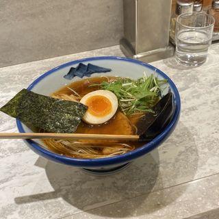 醤油ラーメン(AFURI 横浜 (阿夫利))