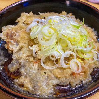 天ぷらそば(一八)