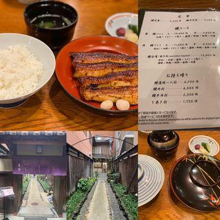 鰻丼定食(吉寅 (よしとら))