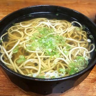 蕎麦(京味菜 わたつね )