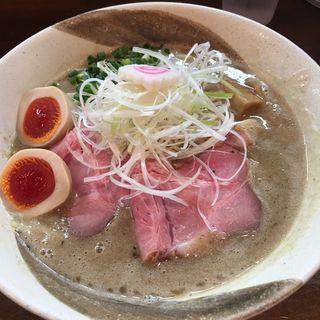 味玉塩ポタチキそば(縁乃助商店 )