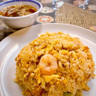 蝦仁炒飯(中国料理 龍門)