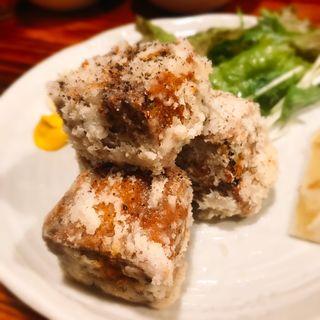 牛タン竜田揚げ(仙台牛たん焼 恵比寿 とらまつ)