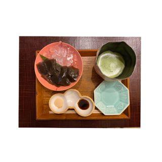 黒糖焙じ茶わらび餅(京都つぶら乃 )