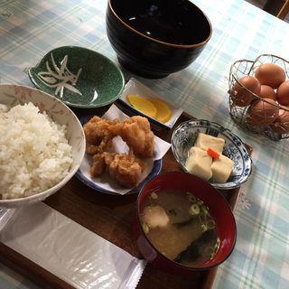 たまごかけご飯定食・大盛(弁天の里 (たまごかけご飯専門店))
