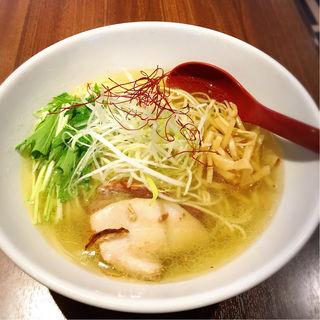 香彩鶏だし塩ラーメン(麺屋 翔 品川店 )