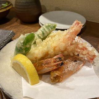 車海老天ぷら(うんすい)