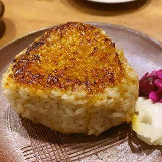 蟹味噌の焼きおにぎり(うんすい)