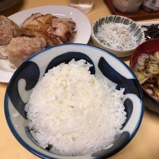 しゅうまいチャーシュー盛り合わせライス(幸軒 (さいわいけん))