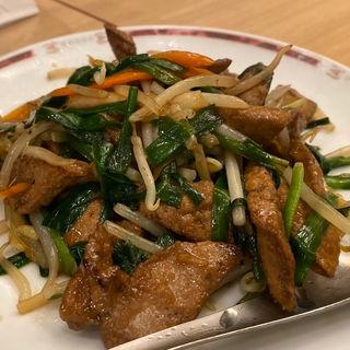 ニラレバ炒め(中華レストラン みつい )