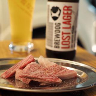 原価カルビ(麦酒と肉汁 CAMP)