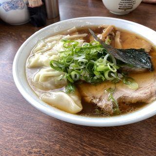 正油チャーシューワンタン麺(支那そばや (シナソバヤ))