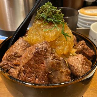 元祖特盛ステーキ丼(1ポンドのステーキハンバーグ タケル 秋葉原店 )