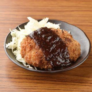 焼きメンチカツ(クシヤキ酒場ヤリキ 上野総本店)