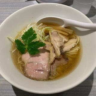 サバと鶏だし チャーシュー麺(だし廊 Mix 3号店)
