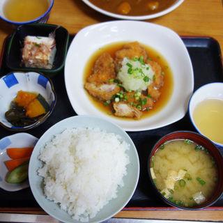 鶏のおろし煮定食(一膳めし 青木堂)