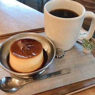 濃厚プリン(WHITE GLASS COFFEE)
