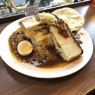 ボンベイサンドチーズカレー(ゴーダカフェ)