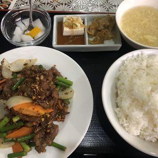 ラム肉とクミンの炒め(紹興飯店 (【旧店名】一新飯店))