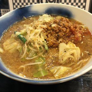 童謡味噌ラーメン トマト挽き肉(ロックンビリーS1 (スーパーワン))