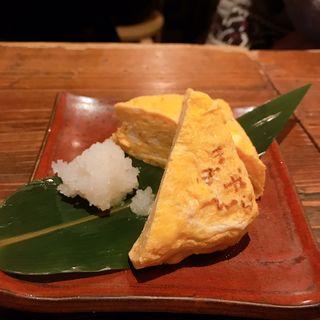 厚焼き卵(下北沢の晩酌屋 まぼねん)