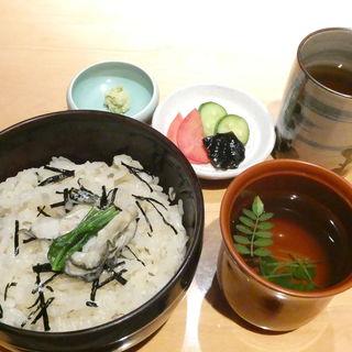 かき釜めし(作一 本店 (さくいち))