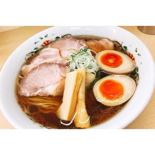特製煮干しらーめん(煮干鰮らーめん 圓 (エン))
