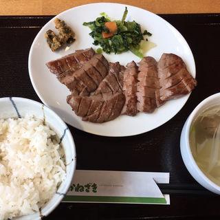 (ランチタイム)牛たん定食(塩)1人前(牛たん かねざき )