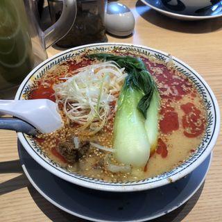 丸源坦々麺(丸源ラーメン 新下関店)