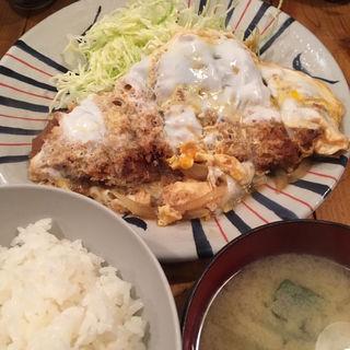 かつ煮定食