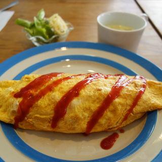 オムライスセット(cafe ginkgo(カフェ・ジャンコ))