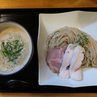 ベジポタ鶏白湯つけ麺(麺処 飯田家)