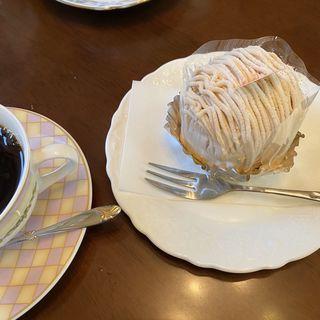 モンブランのコーヒーセット