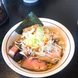油そば(BASSOどりるまん商店 羽後町本店)