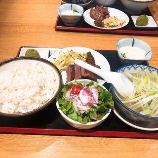 牛たんヘルシー定食(牛たん炭焼き 利久 泉本店 (りきゅう))