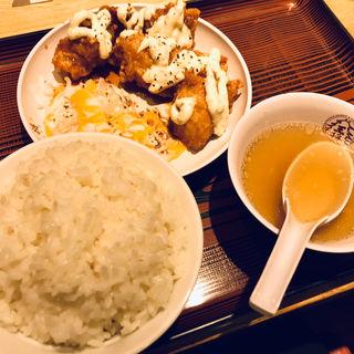 チキン南蛮定食(餃子無し)(大阪王将 新宿ワシントンホテル店 )