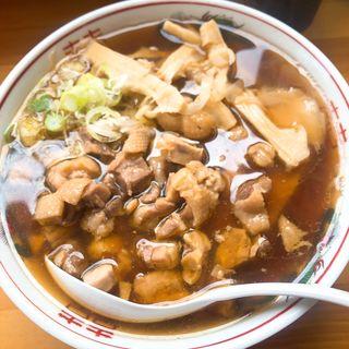 中華そば親鶏トッピング