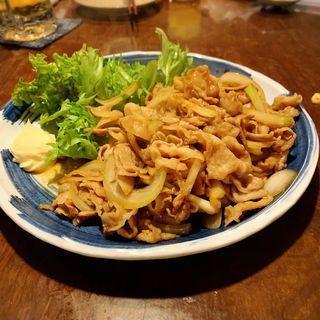 豚バラしょうが焼き(なべや久吉 (キュウキチ))