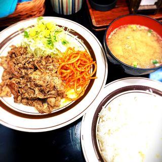 からし焼肉定食(キッチンABC 西池袋店 (キッチンエービーシー【旧店名】れすとらんABC))