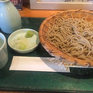 ざるそば(そば処 響 (ひびき))