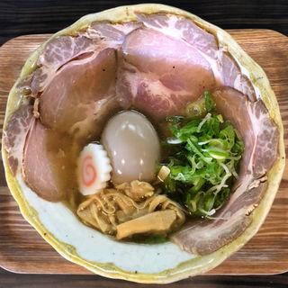 濃厚な鶏のスープ(鈴庵 2号店)