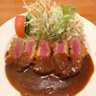 牛ヒレビフカツ(洋食の藤)