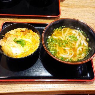 玉子丼セット(麺や ほり野)
