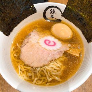 醤油ラーメン(らーめん鏡花 ららぽーと立川立飛店)