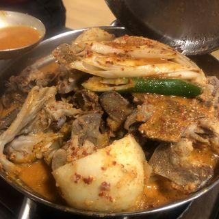 カムジャタン 小(韓国伝統料理 松屋)