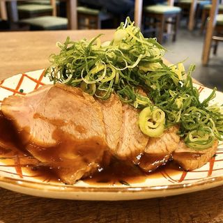 炙りチャーシュー(酒とめし錦食堂)